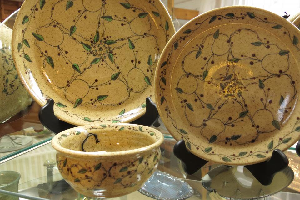 2 Crocked Pots Pottery