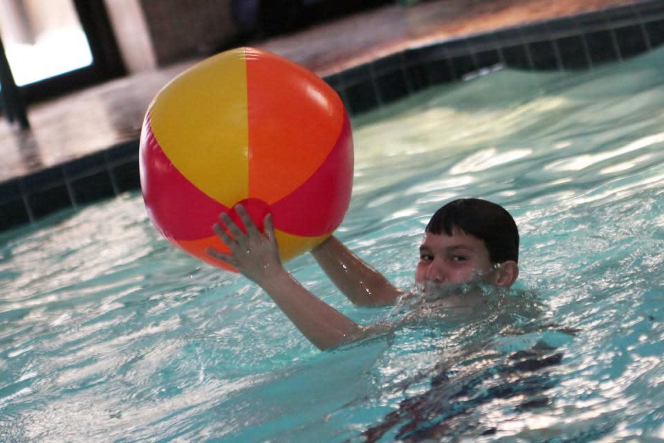 Swimming at the Radisson