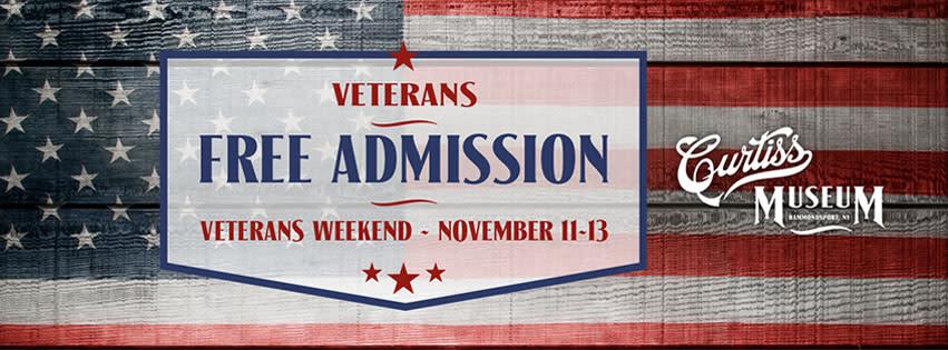 Veterans Day courtesy of Glenn H. Curtiss Museum