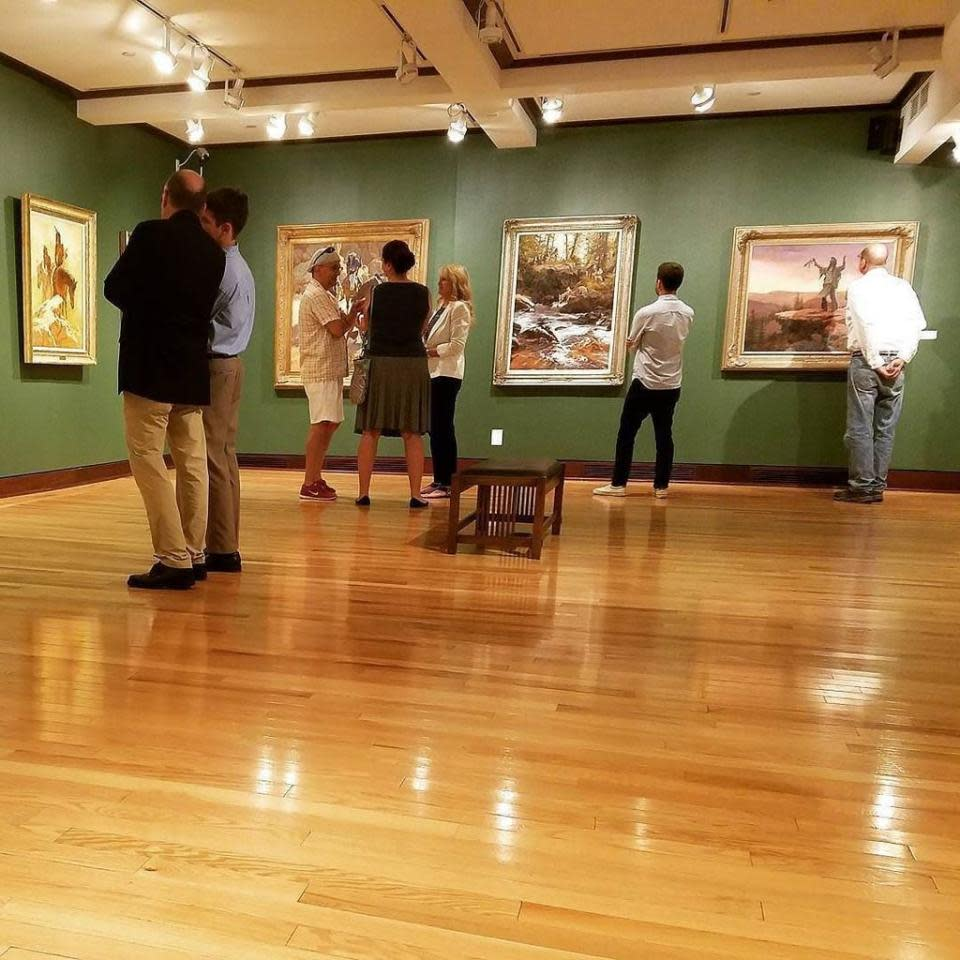 Gallery at The Rockwell courtesy of The Rockwell Museum