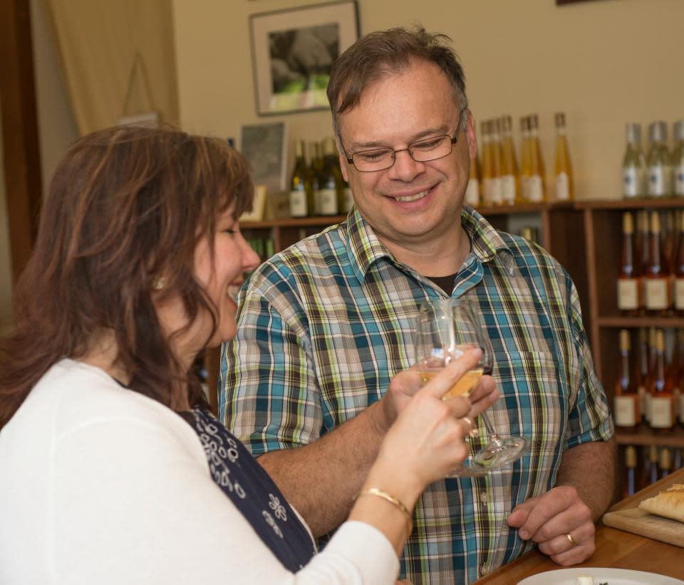 Wine Tasting at Ravines Wine Cellars