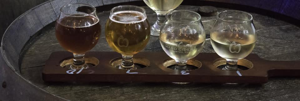 Cider Creek Hard Cider courtesy of Carter Saunders