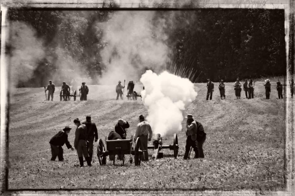 Battle of Lain's Mill courtesy of Jolynn Prunoske