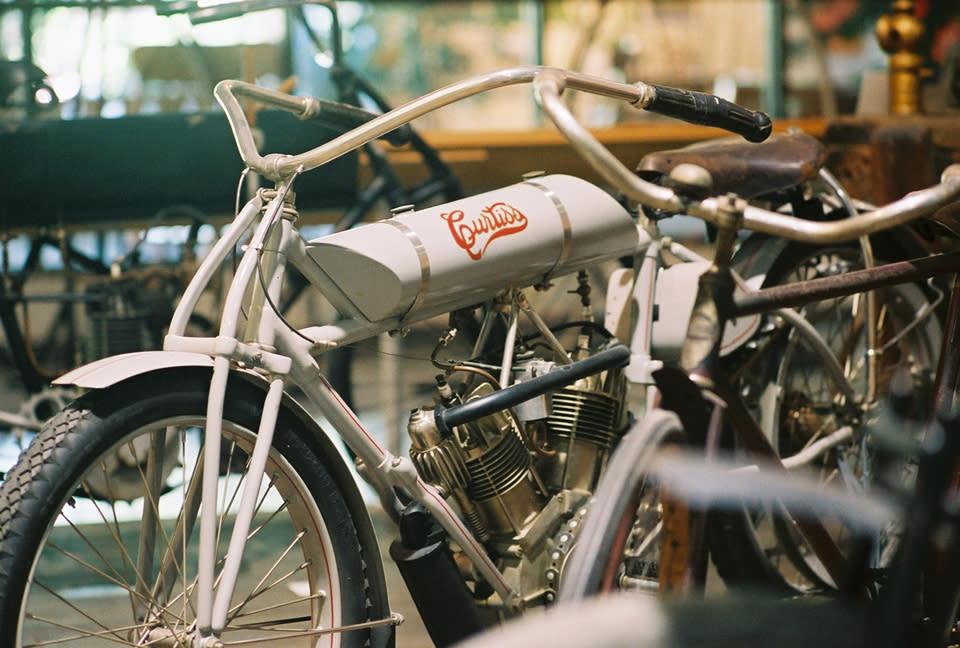 Curtiss Vintage Engine Motorcycle