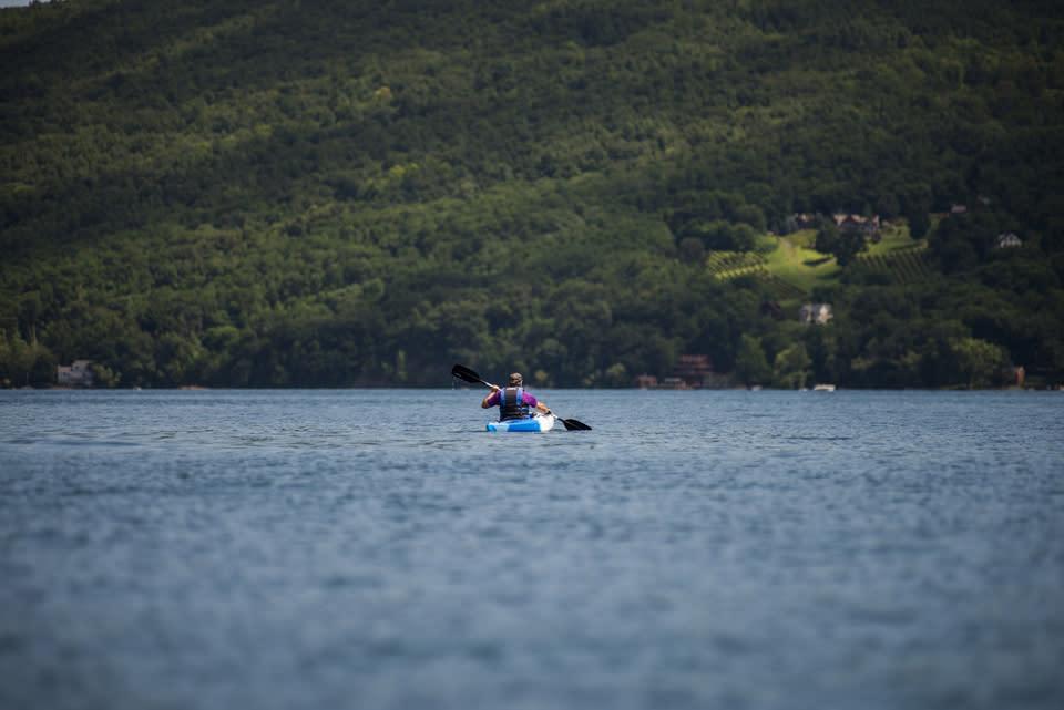 Kayaking courtesy of Stu Gallagher