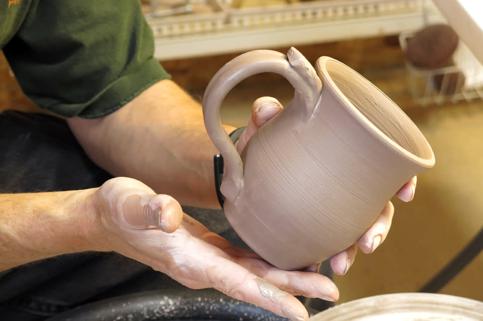 2 Crocked Pots - Made in Corning and the Southern Finger Lakes