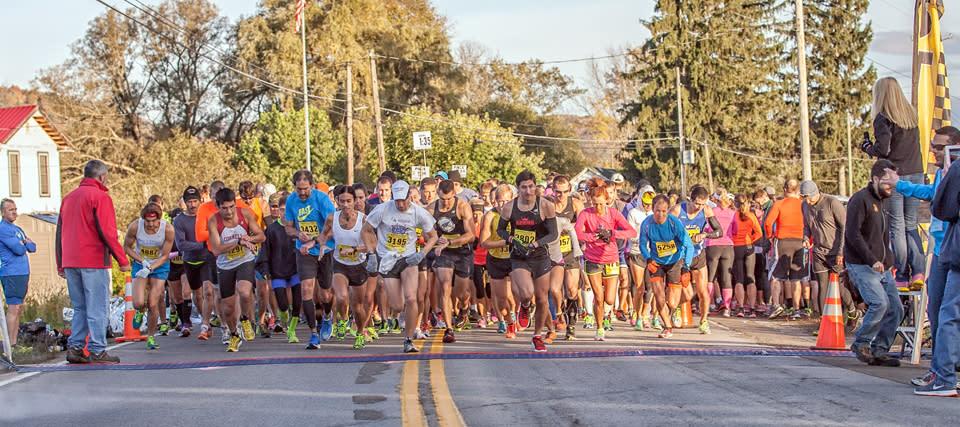 2014 Wineglass Half Marathon courtesy of The Wineglass Marathon