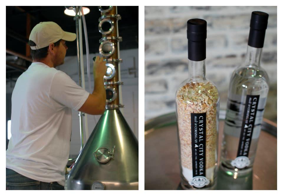 Four Fights Distilling - Crystal City Vodka