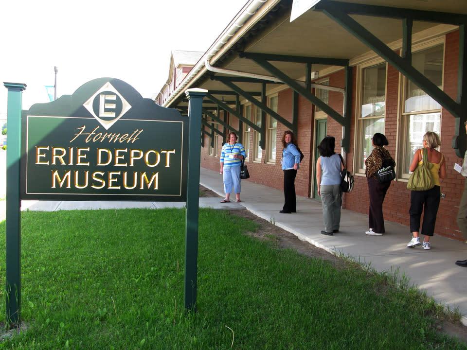 Erie Depot Museum in Hornell