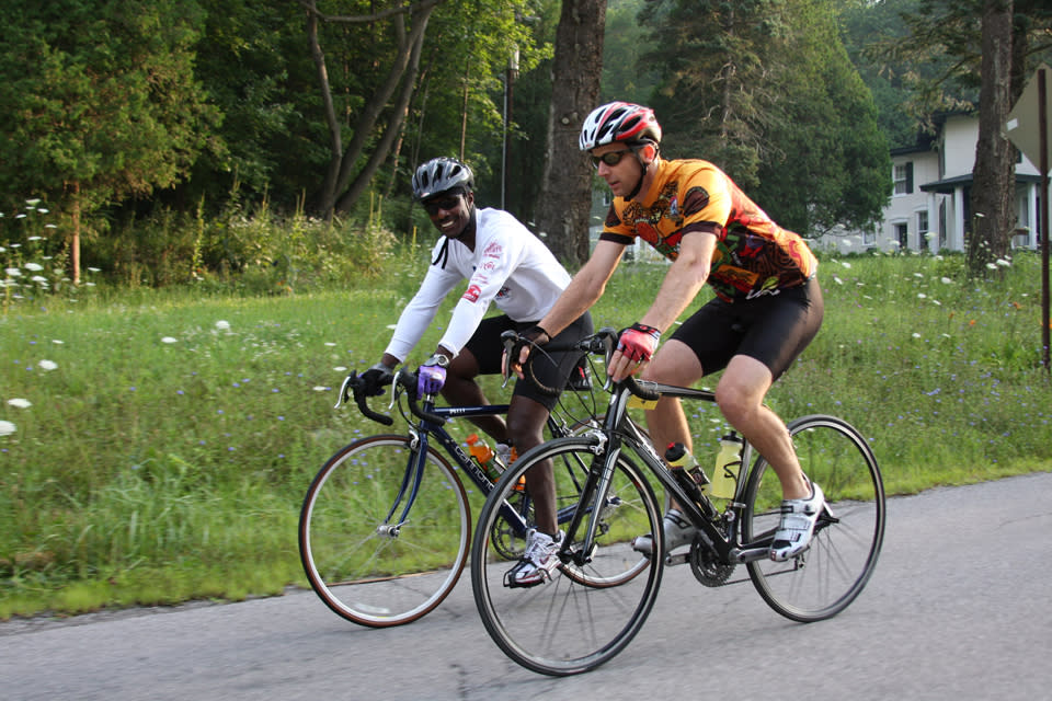 Cycling courtesy of Tour De Keuka