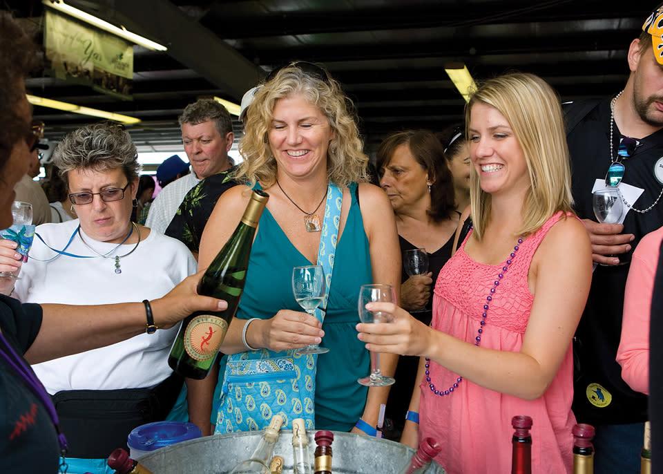 Finger Lakes Wine Festival courtesy of Watkins Glen International