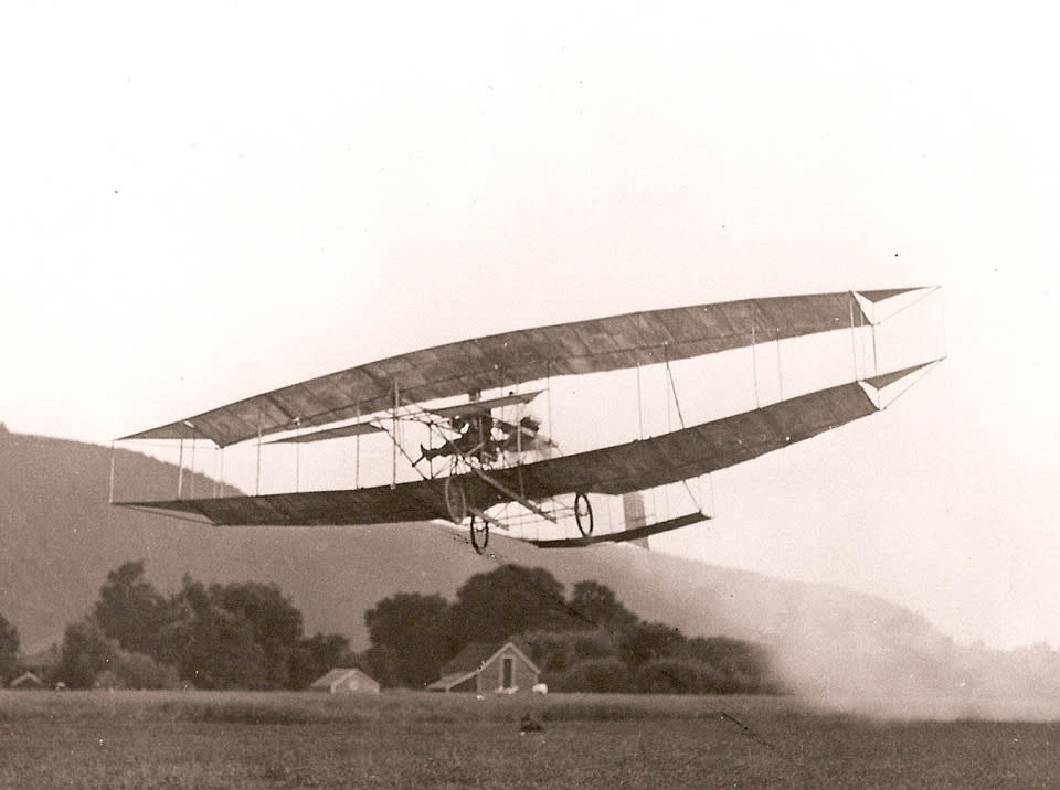 Curtiss June Bug 1908 - courtesy of Glenn H. Curtiss Museum