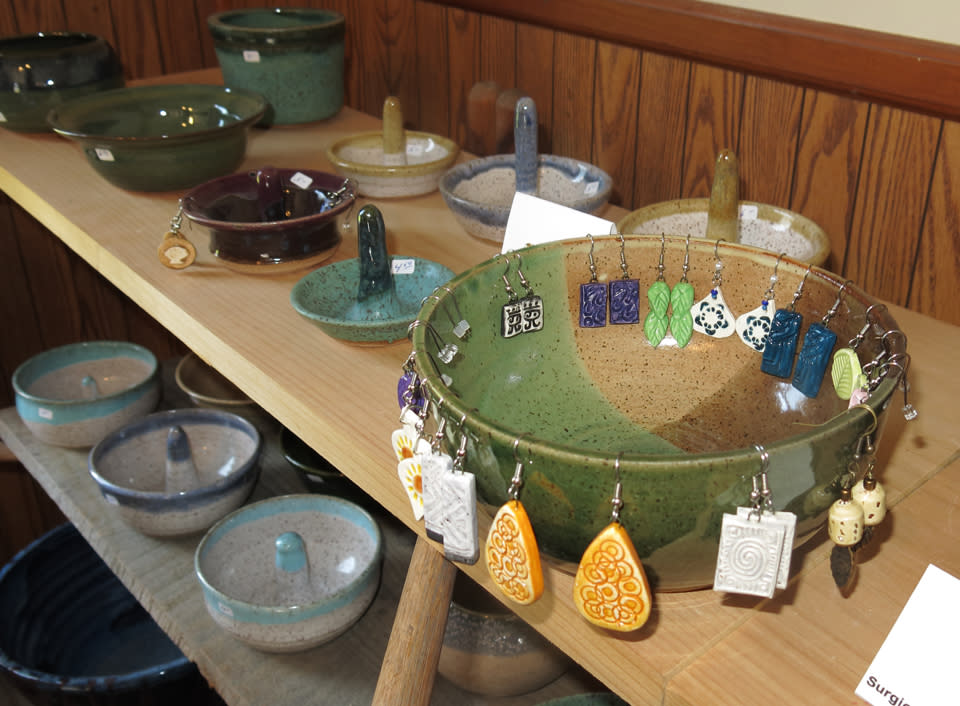 """Arts In Bloom at Rocky Hill Pottery"