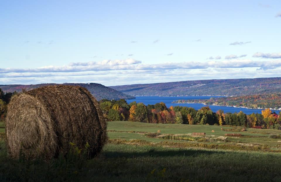 Keuka Lake Fall View courtesy of Bob Magee