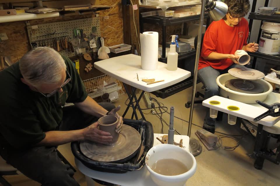 2 Crocked Pots