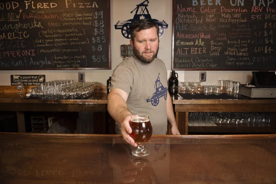 Railhead Brewing Company courtesy of Stu Gallagher