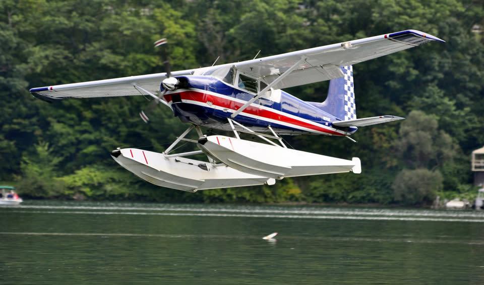 Glenn H. Curtiss Mueum Seaplane Homecoming in Hammondsport by Stu Gallagher