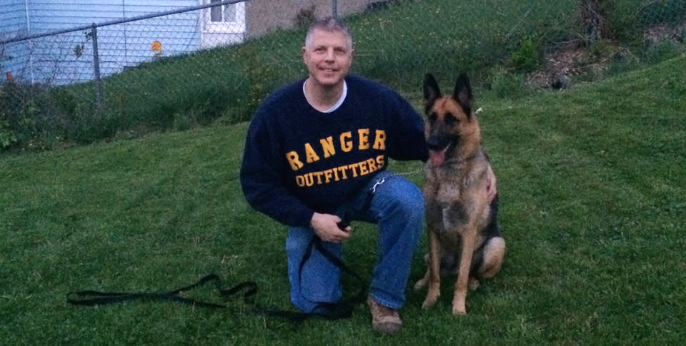 Chris Merola and Ranger