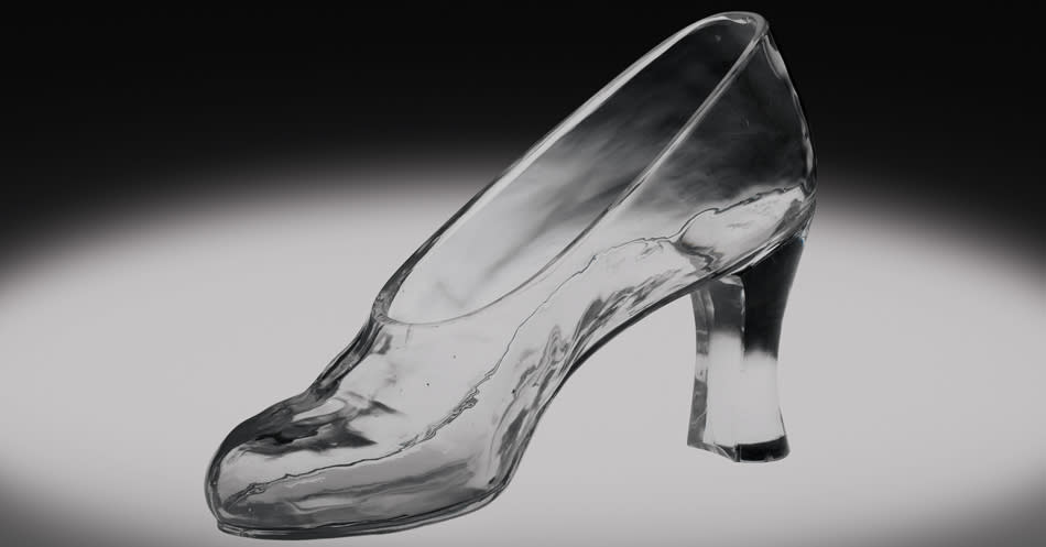Glass Slipper - courtesy of The Corning Museum of Glass