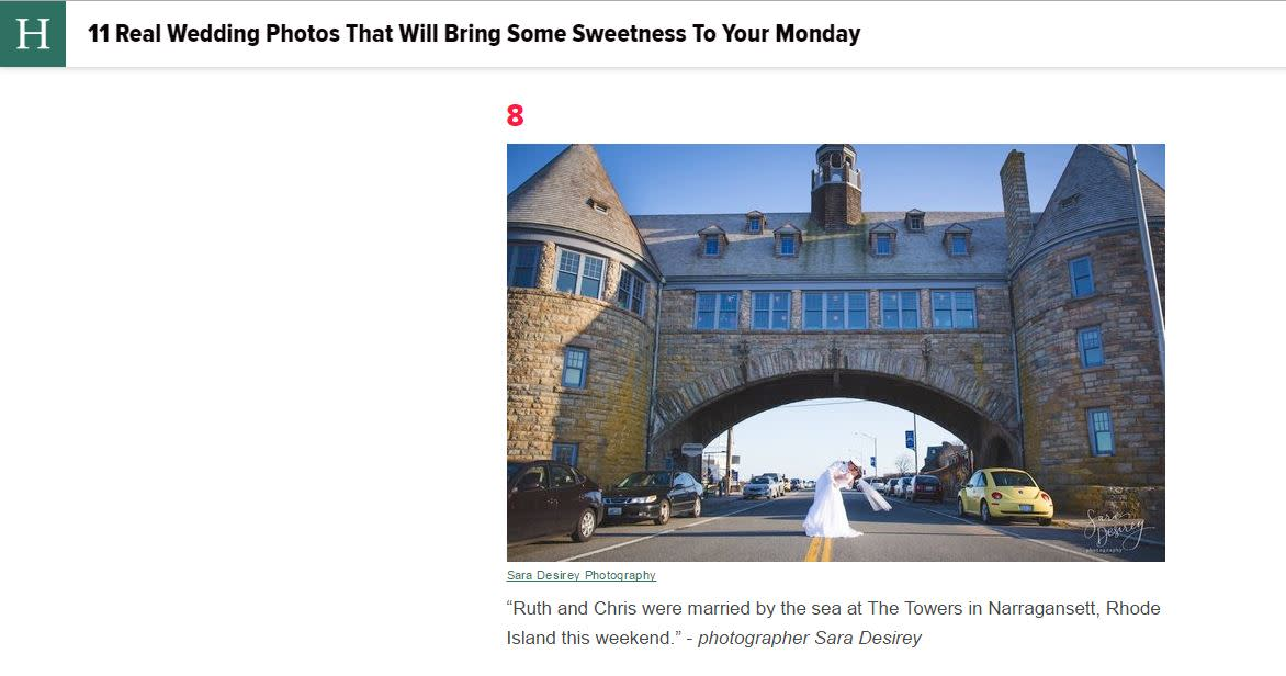 Towers Weddings HuffPost