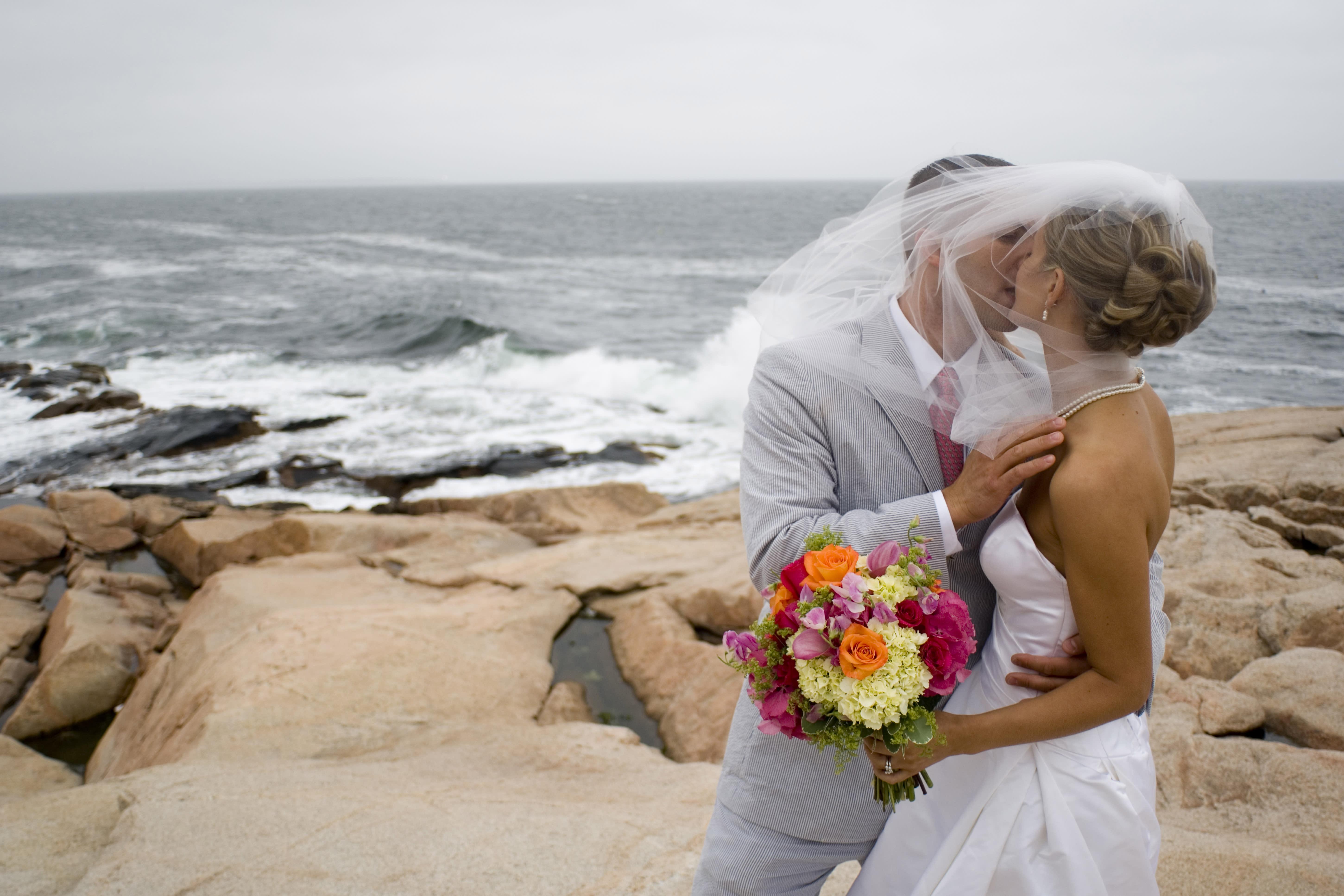 Wedding, Narragansett Kiss, Seth Jacobson
