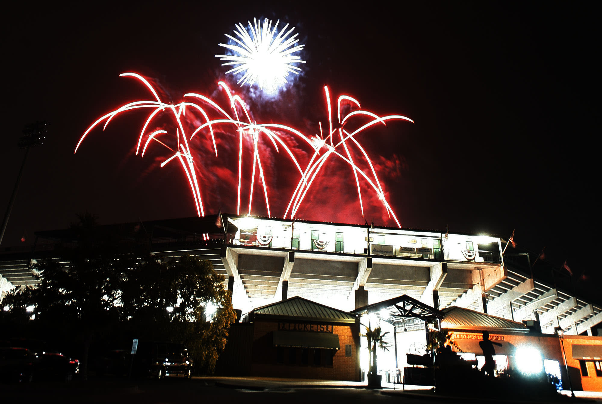 Fireworks at the Hank
