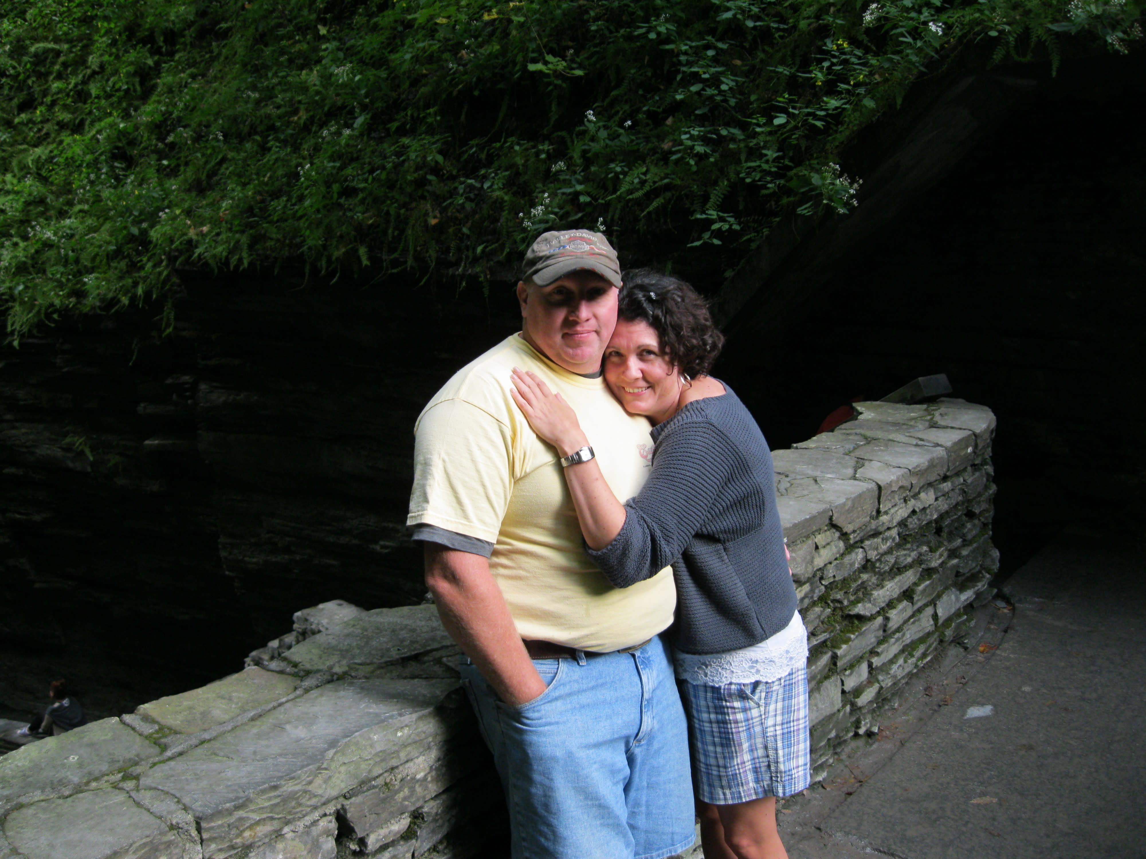 Enjoying Watkins Glen State Park