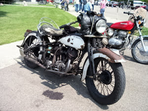 Curtiss Museum Motorcycle