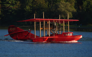 Glenn H. Curtiss Plane in Hammondsport, NY