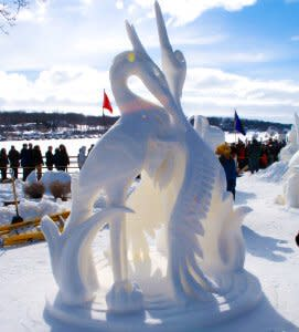 Winterfest Snow Sculpting Winners