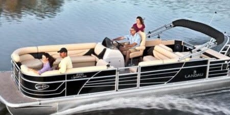 Pontoon Boat for Girls Trip