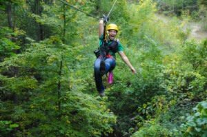 ZIP LINING GIRLS' TRIP