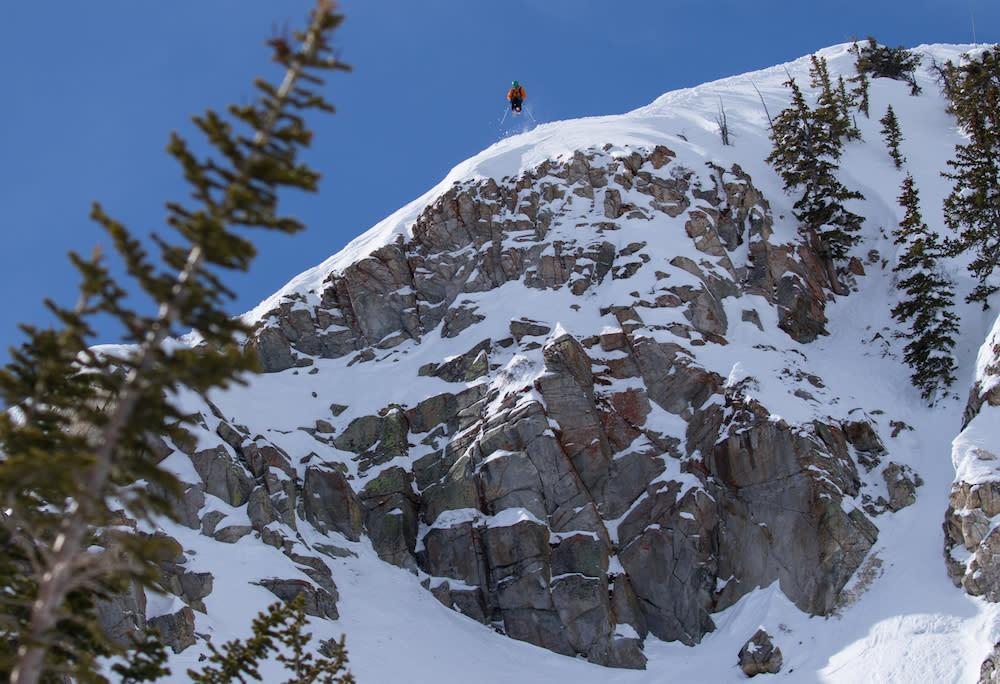 Jason West skiing at Solitude. Part of Steve Lloyd's 2nd Place Portfolio.