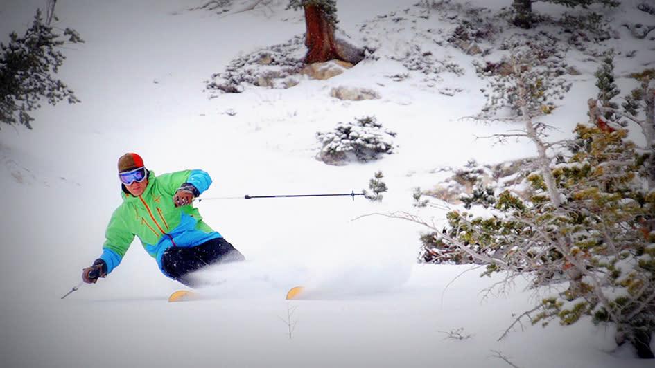 Skiing Solitude