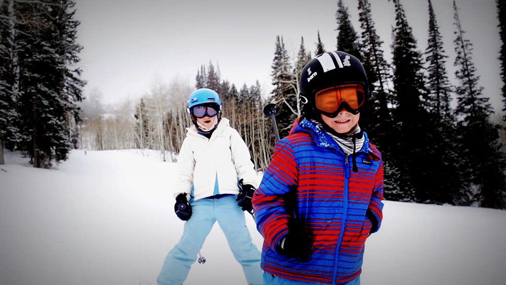 Kids Skiing at Solitude