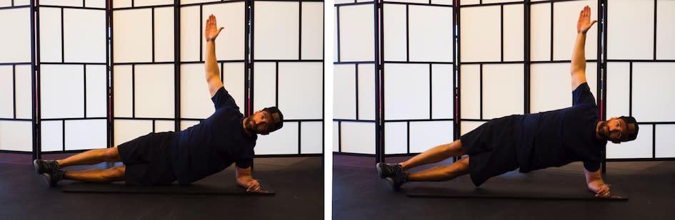 Burn SLC Bodyweight Side Plank