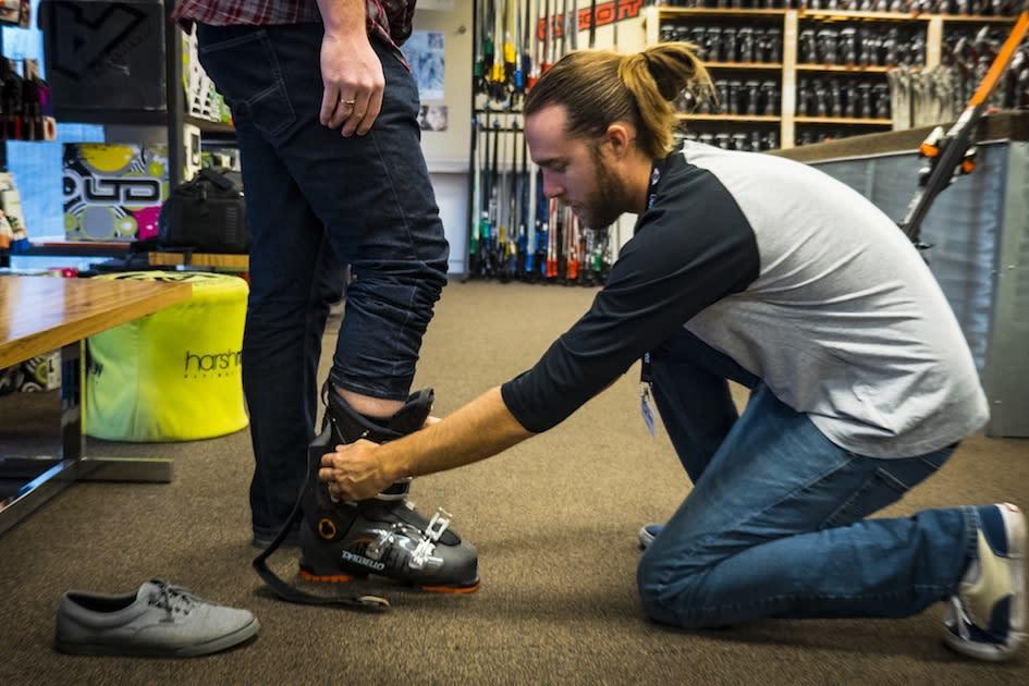 Ski N See Ski Boots