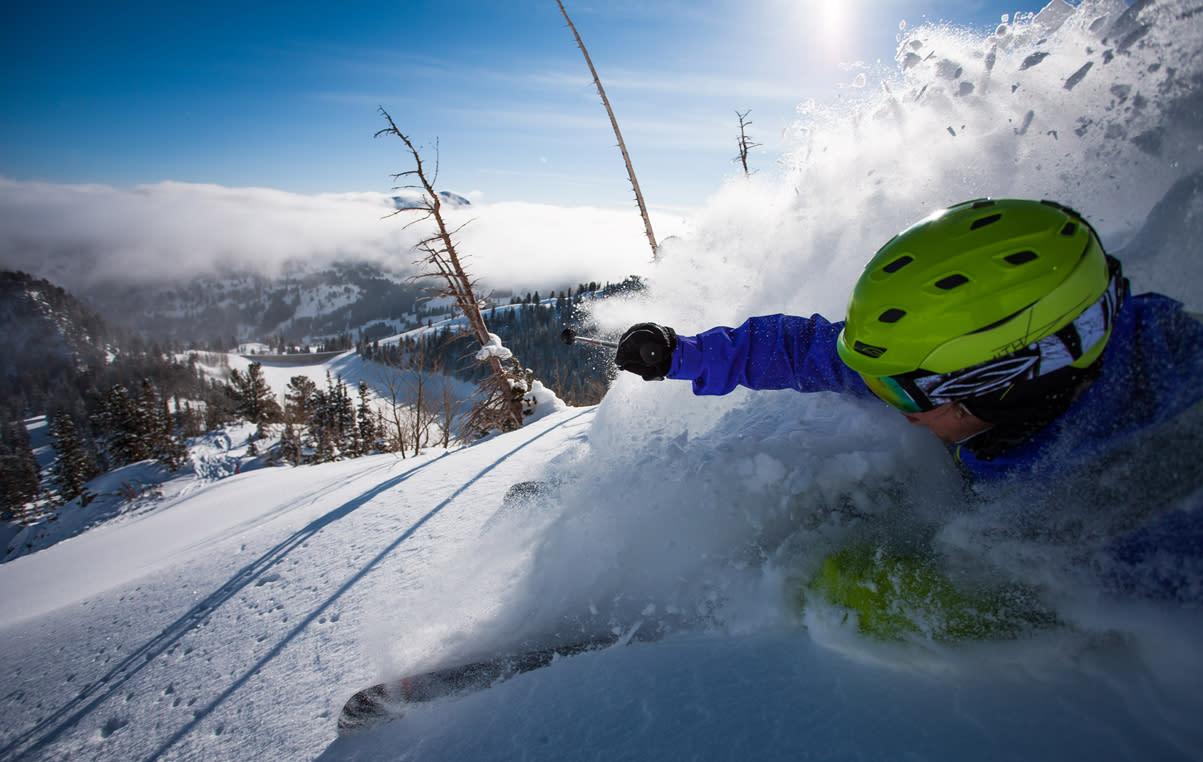 Jared Allen Skiing Solitude