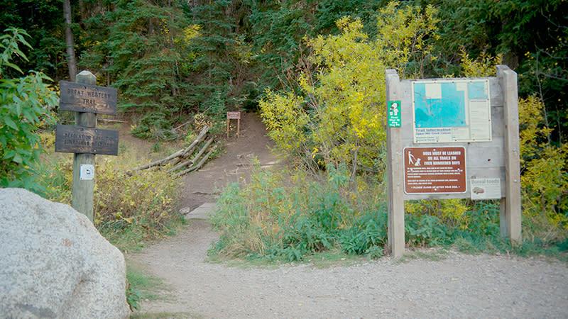 Great Western Trailhead