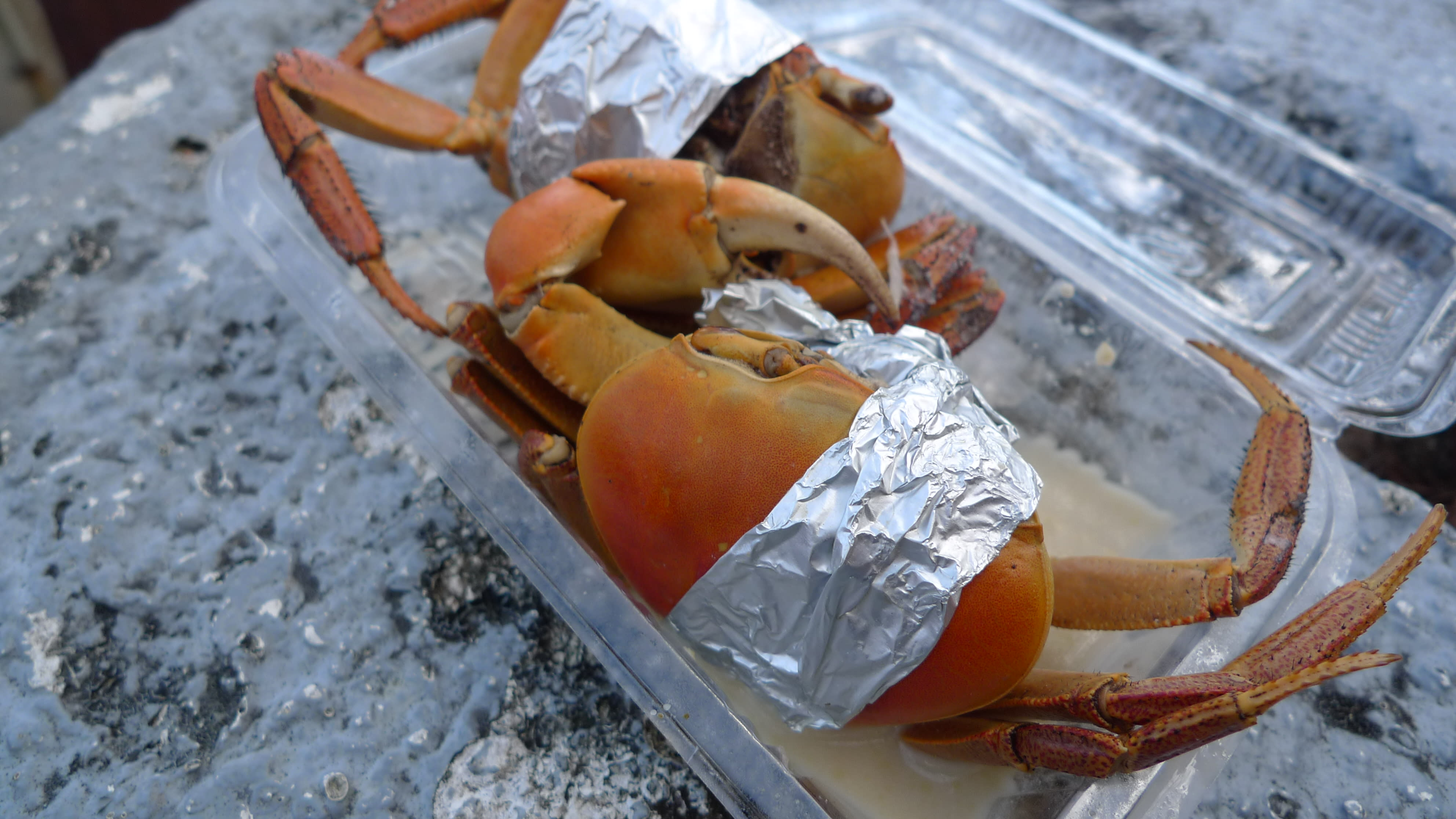 One of the many ways to have your crab prepared.
