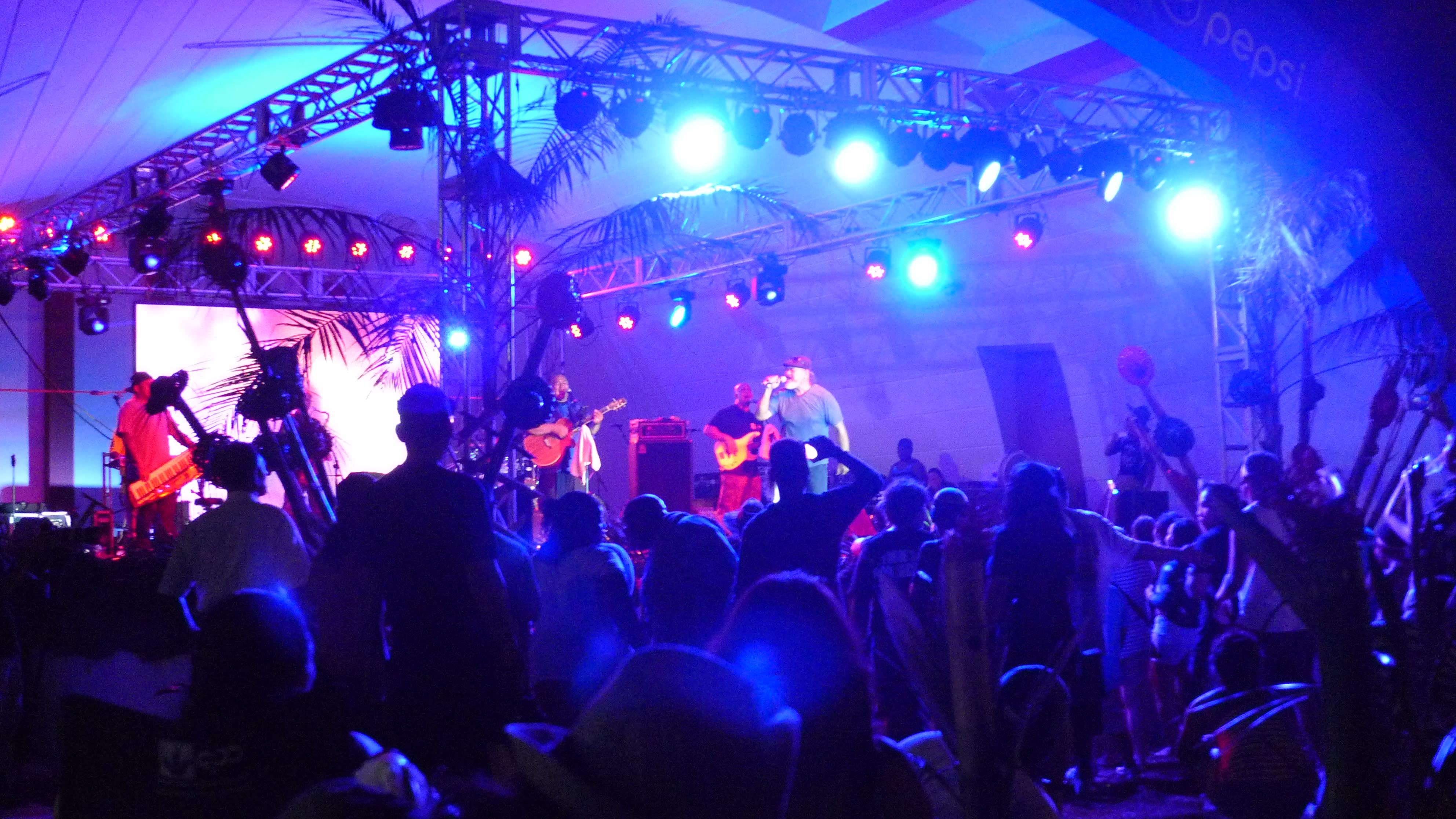 Concert at Guam Micronesia Island Fair