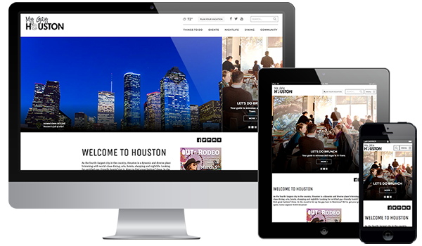 My Gay Houston Responsive Layout