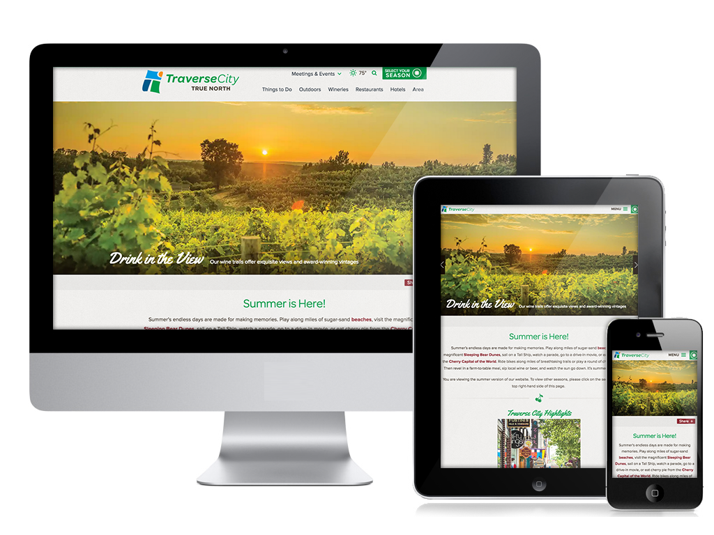 Traverse City Responsive Layout