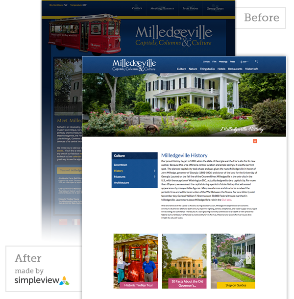 Milledgeville Before/After