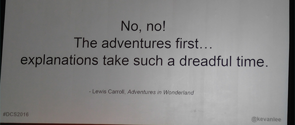 Lewis Carroll Slide