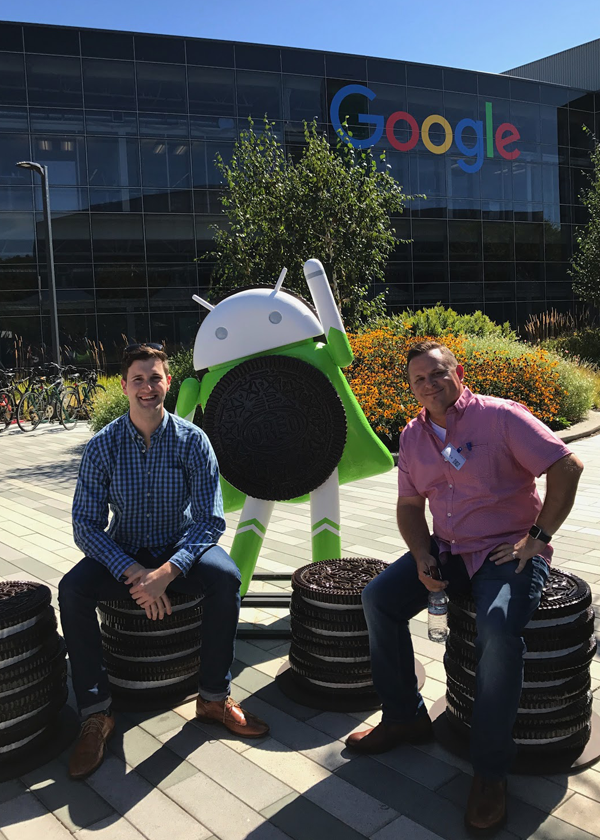 Thank you to Google for hosting us!