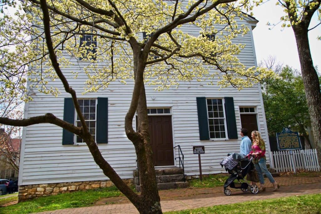 Free Historic Walking Tours in Huntsville, Alabama