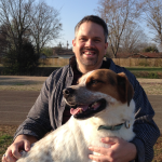 iHeartHsv Regular Contributor David Hitt and his pup Amos Hitt