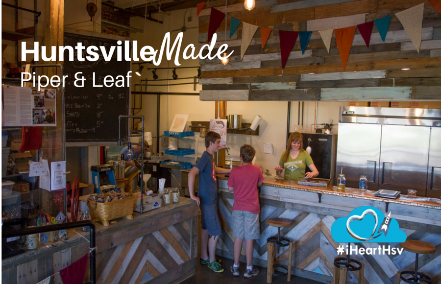 Huntsville Made: Piper & Leaf Artisan Tea Company via iHeartHsv.com