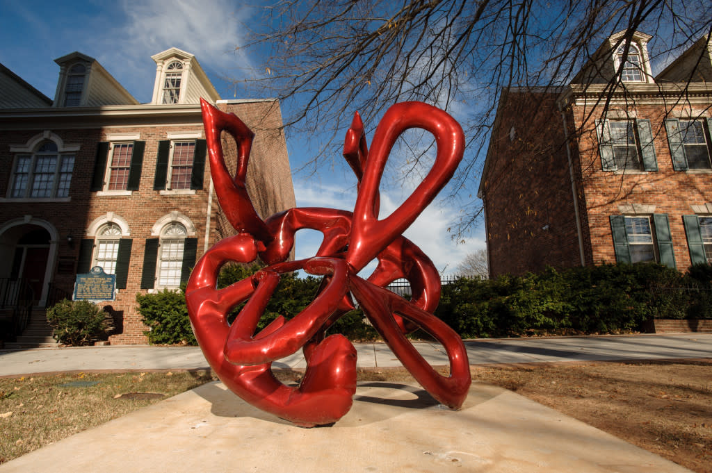 See the SPACES sculpture trail in Huntsville, Alabama via iHeartHsv.com